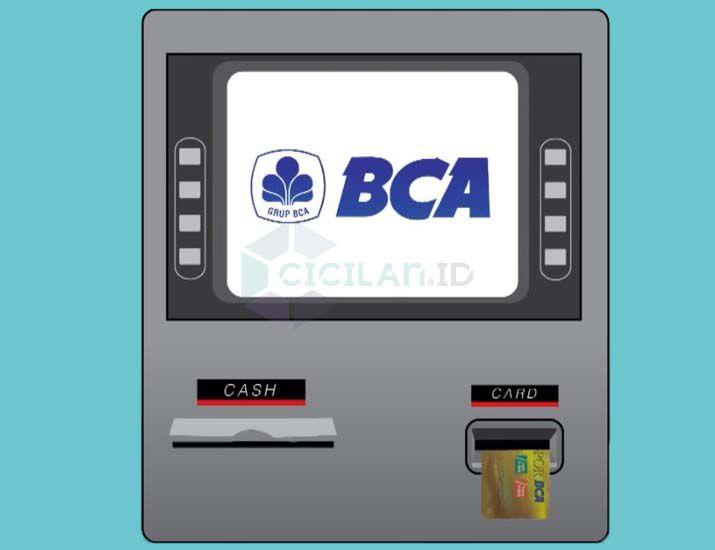 Masukan ATM BCA
