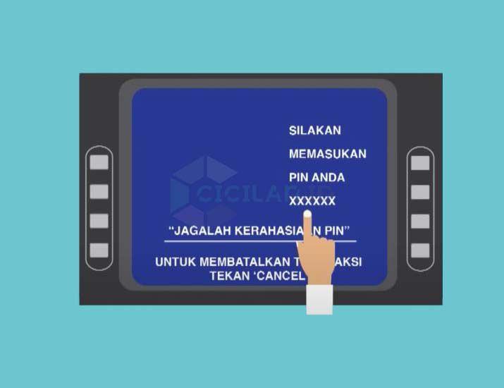Masukan PIN ATM BCA