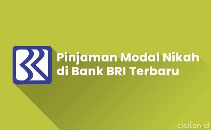 Pinjaman Modal Nikah di Bank BRI