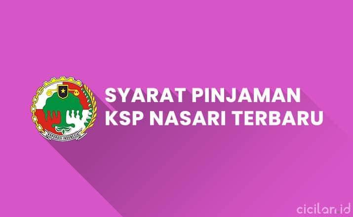 Syarat Pinjaman KSP Nasari