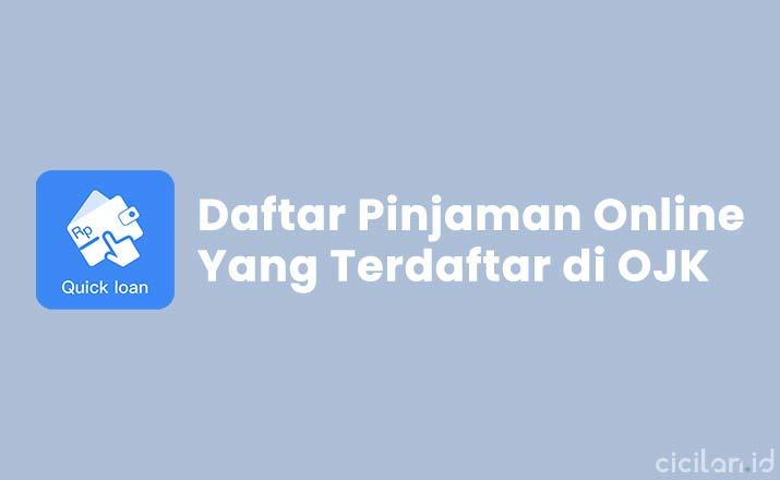 Daftar Pinjaman Online Yang terdaftar di OJK