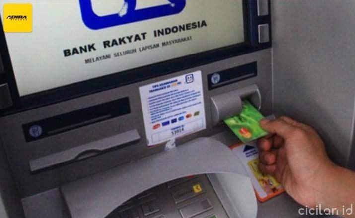 Cara Bayar Adira Lewat ATM BRI