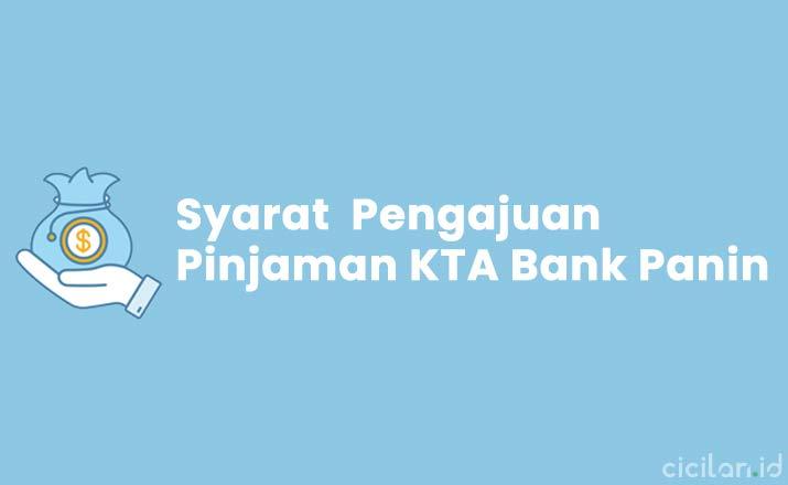 Syarat Pinjaman KTA Bank Panin