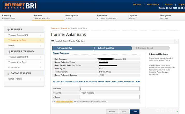 Cek Tagihan Kartu Kredit BRI